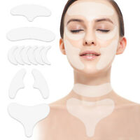 Reusable Anti Wrinkle Chest Neck Eye Face Pad Silicone Removal Patch Skin Care