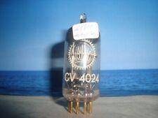 CV4024 # 6201 #  E81CC  # ECC801s # ECC81 # VALVO # NOS  #  GOLD PINS  #  (57)