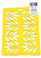 FERN LEAVES STENCIL LEAF TEMPLATE STENCILS CRAFT PAINT ART NEW BY DELTA