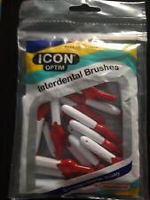 Stoddard Icon Red Standard Interdental Brush - 25 Brush In 1 Pack