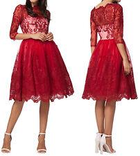 Chi Chi London  - Cocktailkleid/festliches Kleid - rot Gr.46 UK18