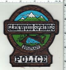 Glenwood Springs Police (Colorado) 2nd Issue Uniform Take-Off Shoulder Patch