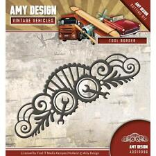 TOOL BORDER Die Vintage Vehicles Die Cutting Die Amy Design ADD10096 New
