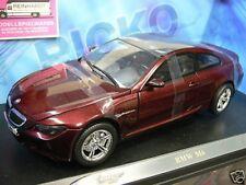 1/18 Ricko BMW M6 dunkelrot