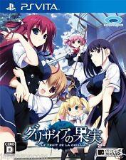 Used PS Vita Grisaia no Kudamono  FRUIT SONY PLAYSTATION JAPANESE IMPORT