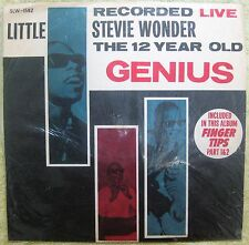 STEVIE WONDER 1ST  LP Record- Republic of China Bootleg 1960's Orange- RARE !