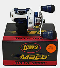 Lew's Mach Speed Spool 7.5:1 Gear Ratio MI1SHL Left Hand Baitcasting Reel
