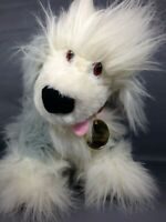 "Disney Max Sheep Dog Plush Little Mermaid Macy's Exclusive Stuffed Animal 15"""