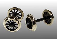 FGB 11 Speichen Metallradsatz - 2 Achsen für Gartenbahn Spur G