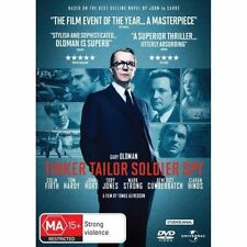 Tinker Tailor Soldier Spy DVD MYSTERY Movie Colin Firth BRAND NEW RELEASE R4