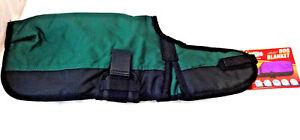 New Waterproof Dog Blanket 600D Dk Green Black Winter Coat Jacket Tough1 Clothes