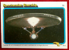 STAR TREK - MOVIE - Card #73 - SPECTACULAR STARSHIP - TOPPS 1979
