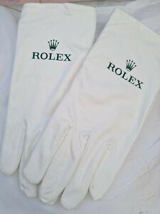 Brand new Genuine Rolex presentation/Cleaning  Gloves. Size M