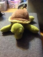 """Kohl's Cares for Kids TURTLE Spring Green/Brown Soft Plush Toy 14"""""""