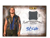 WWE Baron Corbin 2016 Topps Undisputed Bronze Autograph Relic Card SN 66 of 99