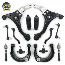 14 Pc Suspension Kit for 06-08 Hyundai Sonata Control Arms TieRod Boot Sway Bars