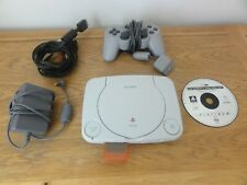 PLAYSTATION 1 PS1 SLIM CONSOLE + CRASH BANDICOOTE 2 GAME (TESTED WORKING)