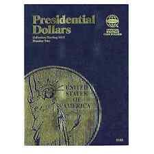 Whitman Coin Folder 2182 Presidential Dollars #2 2012-2016
