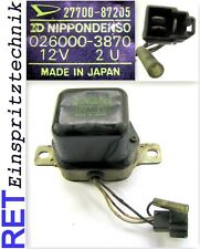 Spannungsregler NIPPONDENSO 026000-3870 Toyota Corolla 27700-87205 original