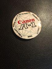 Canon Camera A-1 Pin/button