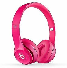 Beats Dr Dre Solo2 Wired On-ear Headphone B0518 PK Fine Tune Sounds W/ Mic Pink