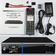 GigaBlue UE 4K Satellite Receiver (2 x FBC DVB-S2) Linux E2 Multi Room IPTV