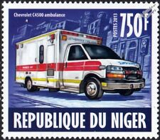 CHEVROLET C4500 Ambulance Lethbridge EMS Emergency Response Vehicle Stamp (2013)