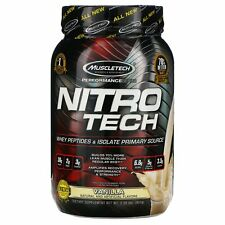 Muscletech  Nitro Tech  Whey Isolate   Lean MuscleBuilder  Vanilla  2 00 lbs