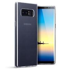 Étuis, housses et coques transparents Pour Samsung Galaxy Note8 en silicone, caoutchouc, gel pour téléphone mobile et assistant personnel (PDA)