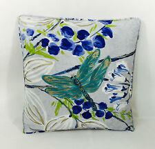 Designers Guild Fabric Cushion Cover- Kimono Blossom In Delft - inc cushion pad