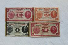 Netherlands East Indies Banknotes, 50 Cents, 1 Gulden, 10 Gulden (2), from 1943