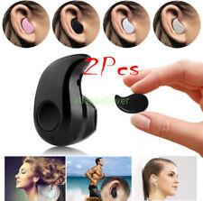 2PCS Mini Wireless Bluetooth 4.1 Stereo In-Ear Earbud Headset Earphone Earpiece