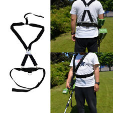 Universal Metal Detector Bungee Support Harness EZ Easy Swing Fully Adjustable