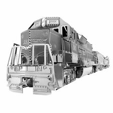 Metal Earth Set Freight Train Lokomotive 4 Waggon Modellbau 3D Metall Bausatz