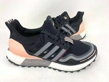 NEW! Adidas Women's Ultraboost Guard Running Shoes Blk/Pnk #FU9465 152N tz