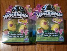 LOT of 2 Hatchimals CollEGGtibles Season 3  2pk + Nest BOTH NIP