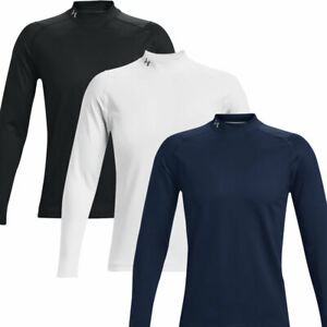 Under Armour ColdGear Infrared Golf Mock Long Sleeve Base Layer