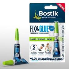 Bostik Fix & Glue Gel Tube de Colle Extra forte tous Matériaux