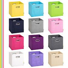 (Storanda) Aufbewahrungsbox MIA | Faltbox | Korb | 28x28x28 cm | Neuware