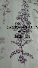 Laura Ashley Single Duvet Cover and pillowcase - Cassie Bedlinen in grape