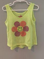 Erge Designs Toddler Girls Sleeveless Shirt Flower Size 4T