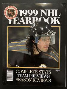 1999 NHL Yearbook Complete Stats Team Previews Season Reviews Jaromir Jagr Cover