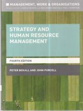 STRATEGY AND HUMAN RESOURCE MANAGEMENT  AA.VV. PALGRAVE 2016