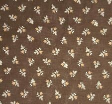 1/2 Yd Vintage Calico Tulip Flowers Floral BTHY Cotton Quilt Fabric by Cranston