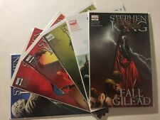 Dark Tower Fall Of Gilead 1-6 NM Complete Set Run Lot Stephen King 2 3 4 5