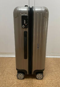 """Rimowa Salsa 22"""" Multiwheel Carry On Champagne Gold"""