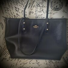 Coach handbags used pre-owned Navy Blue