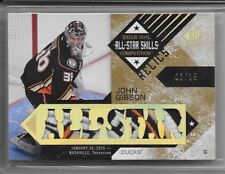 16-17 SP GAME USED ALL-STAR SKILLS RELICS PATCH #ASB-GI JOHN GIBSON 2/15 4CL