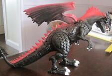 Dragon-i Mighty Megasaur Battery Operated Walking Black Dragon Used