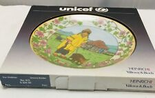 Villeroy & and Boch OUR CHILDREN UNICEF No3 Peru plate BOXED